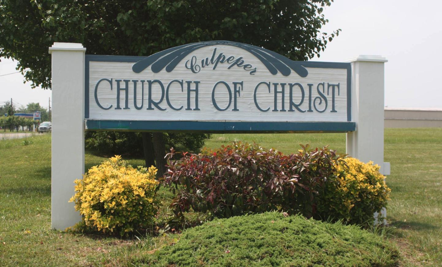 Culpeper church of Christ